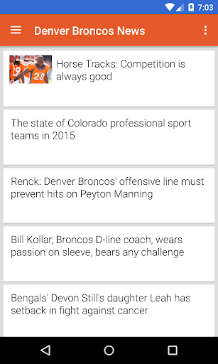 BIG Denver Football ニュース