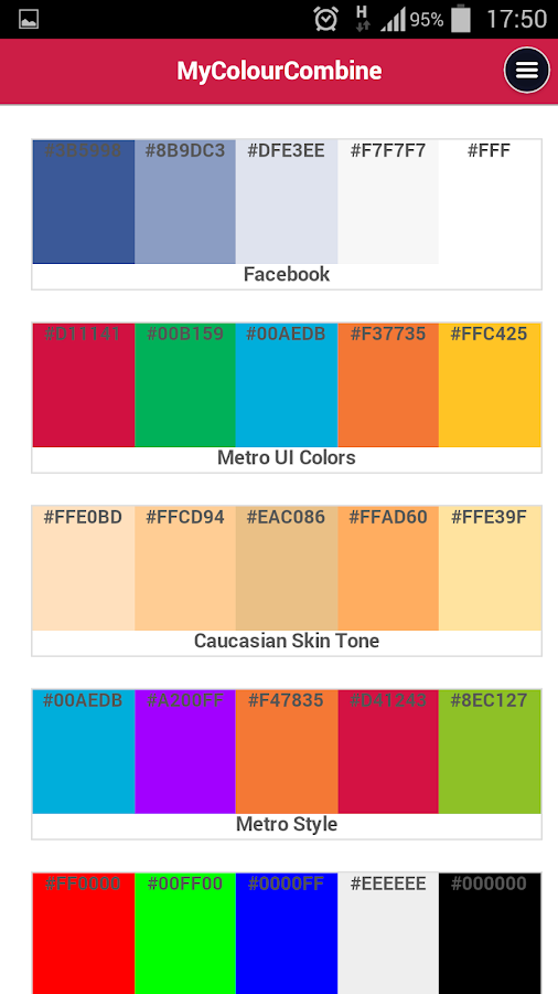 My colour combine android apps on google play for How to combine colors