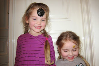 Photo: Princesses with a golden star on their forehead.