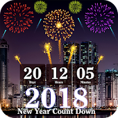 New Year Count Down Live Wallpaper 2018