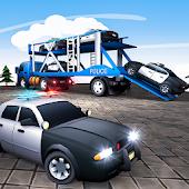 US Police Transport - Cargo Plane Flight Simulator Android APK Download Free By Minja Studio