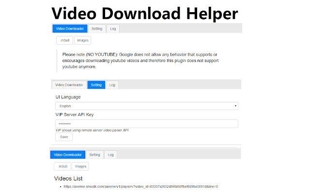 Simple video download helper chrome web store ccuart Images