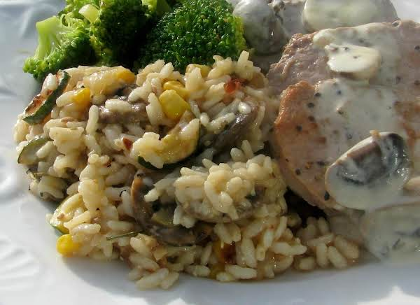 Cucina Rustica: Risotto W/ Early Autumn Vegetables Recipe
