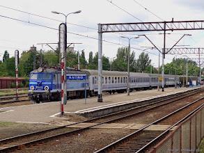 """Photo: EP08-012, TLK """"Podlasiak"""" Szczecin Główny - Białystok {Kutno; 2014-07-13}"""