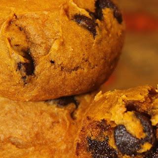 Chocolate Pumpkin Cake Cookies