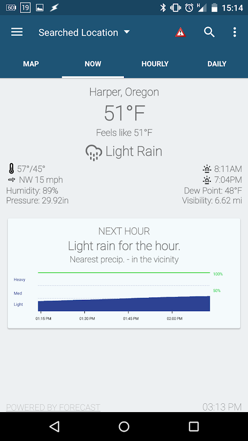 Arcus Weather- screenshot