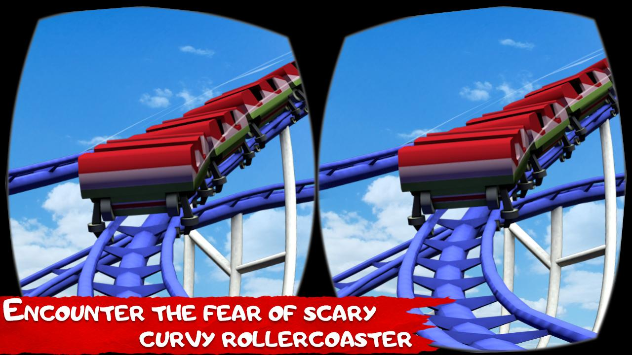 Roller Coaster VR Simulator- screenshot
