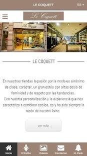 Le Coquett - náhled