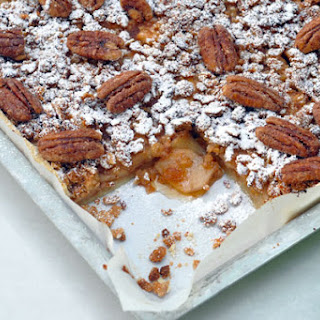 Apple Slab Pie with Candied Pecans