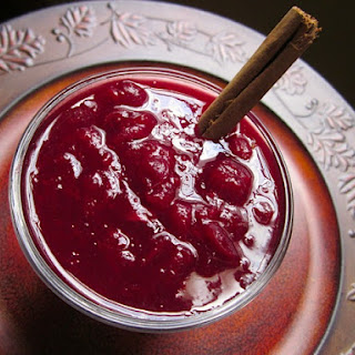 Red Wine Cranberry Sauce