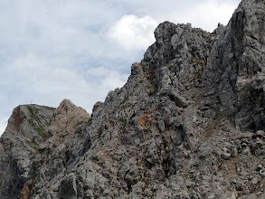 Photo: Gehrenspitze Summit in far left (cross is visible).
