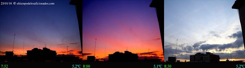 Photo: Amanecer del 23/01/10