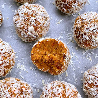 No-Bake Carrot Cake Bites.