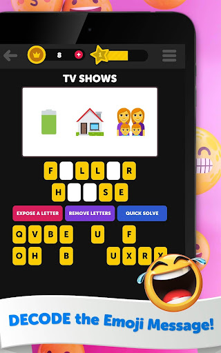 Guess The Emoji - Trivia and Guessing Game! 9.39 Screenshots 17