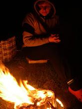 Photo: ognisko z grilla :)