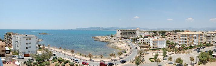 Photo: Apolo hotel erkély [panorama]