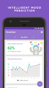 MoodCast Diary - Mood Tracker Screenshot