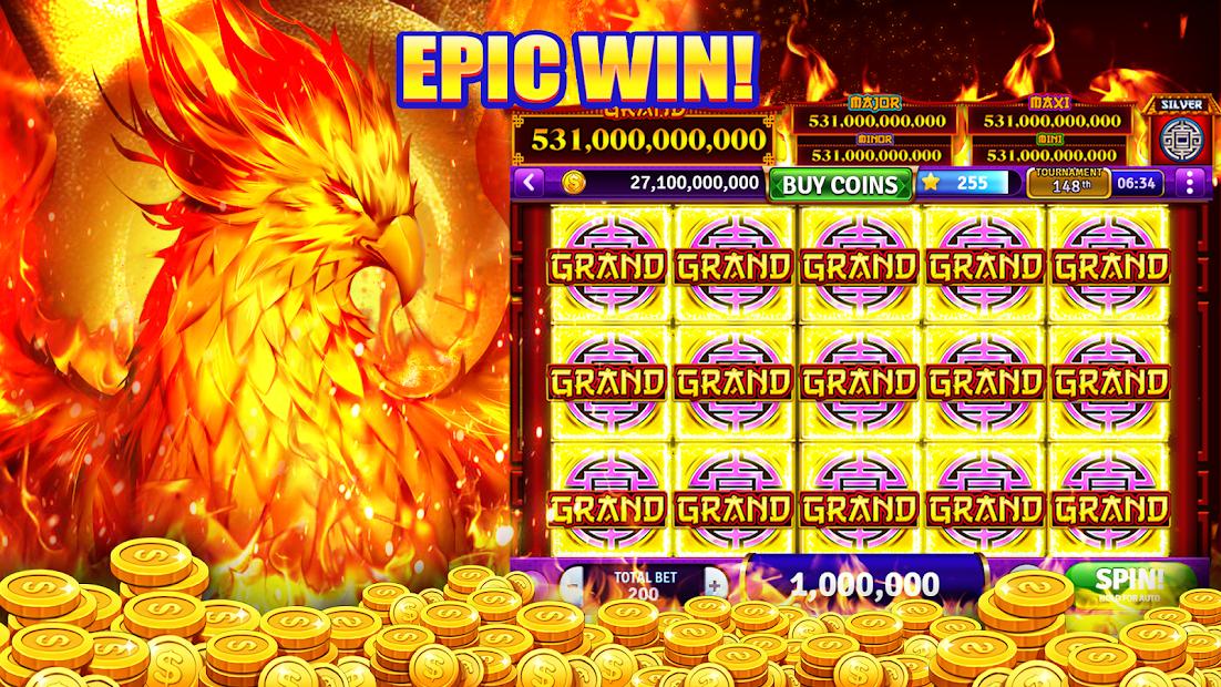 Cash Storm Casino - Online Vegas Slots Games Android App Screenshot
