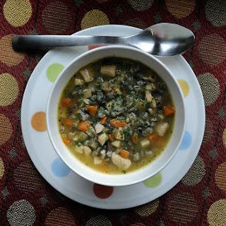 Roast Turkey and Wild Rice Soup Recipe