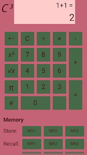 Calc³ Custom Color Calculator - náhled