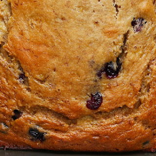 1. Healthy Blueberry Banana Bread
