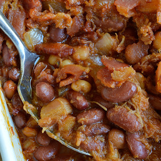 Double Pork Baked Beans