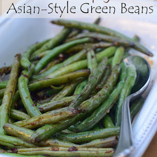 Sweet and Spicy Asian-Style Green Beans.