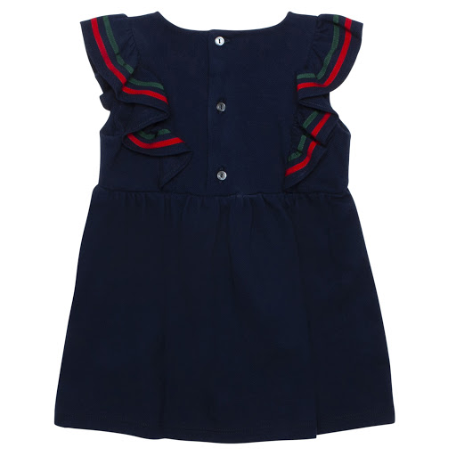 Thumbnail images of Gucci Baby Sleeveless Piqué Dress