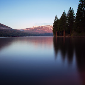 Faded Reflections by Dan Shimmon - Landscapes Waterscapes