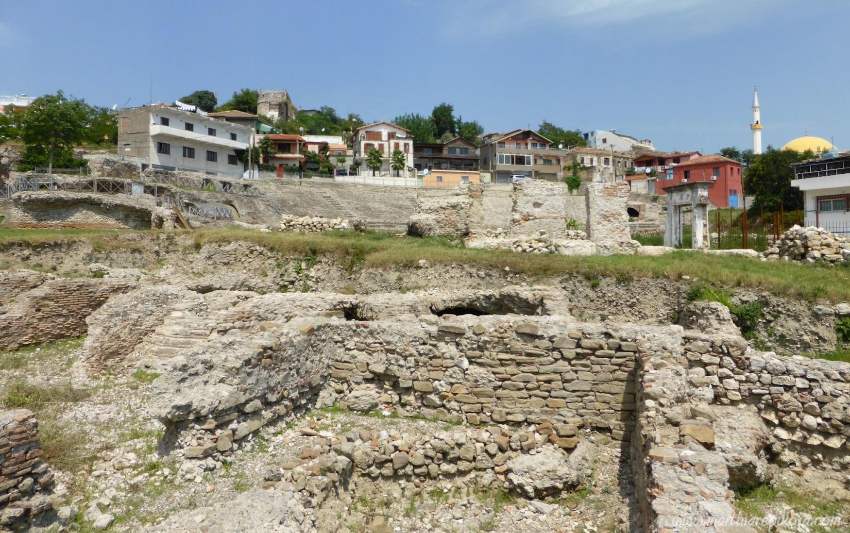 Starý rimánsky amfík, Albánsko