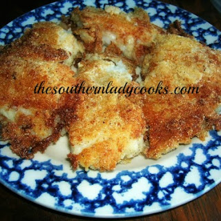 PAN FRIED COD FISH FILLETS.
