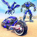 US Police Flying Horse Robot Bike Transfo 1.0.1 APK تنزيل