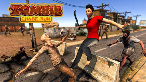 Zombie Chase: The End Of Zombie Tsunami  captures d'écran 1