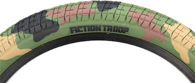 "Fiction BMX Troop Tire 20"" x 2.3"" Jungle Camo"