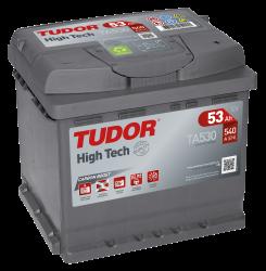 Startbatteri 53Ah Tudor Exide High Tech