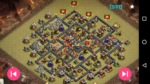 War layouts for Clash of Clans 1.0.1 screenshots 7