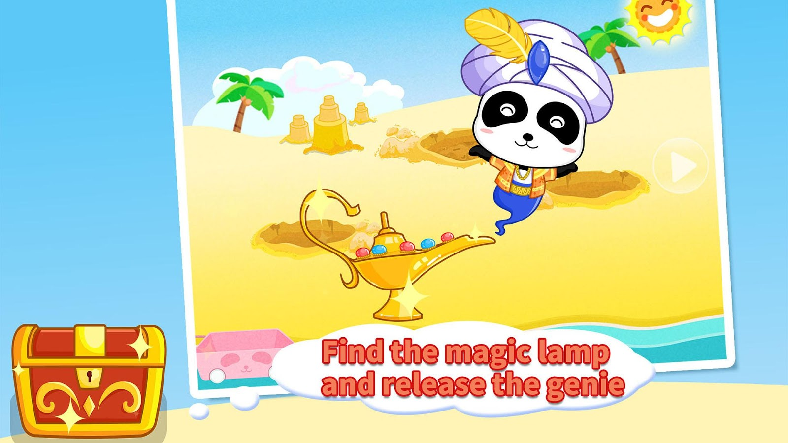 Treasure Island - Panda Games- screenshot