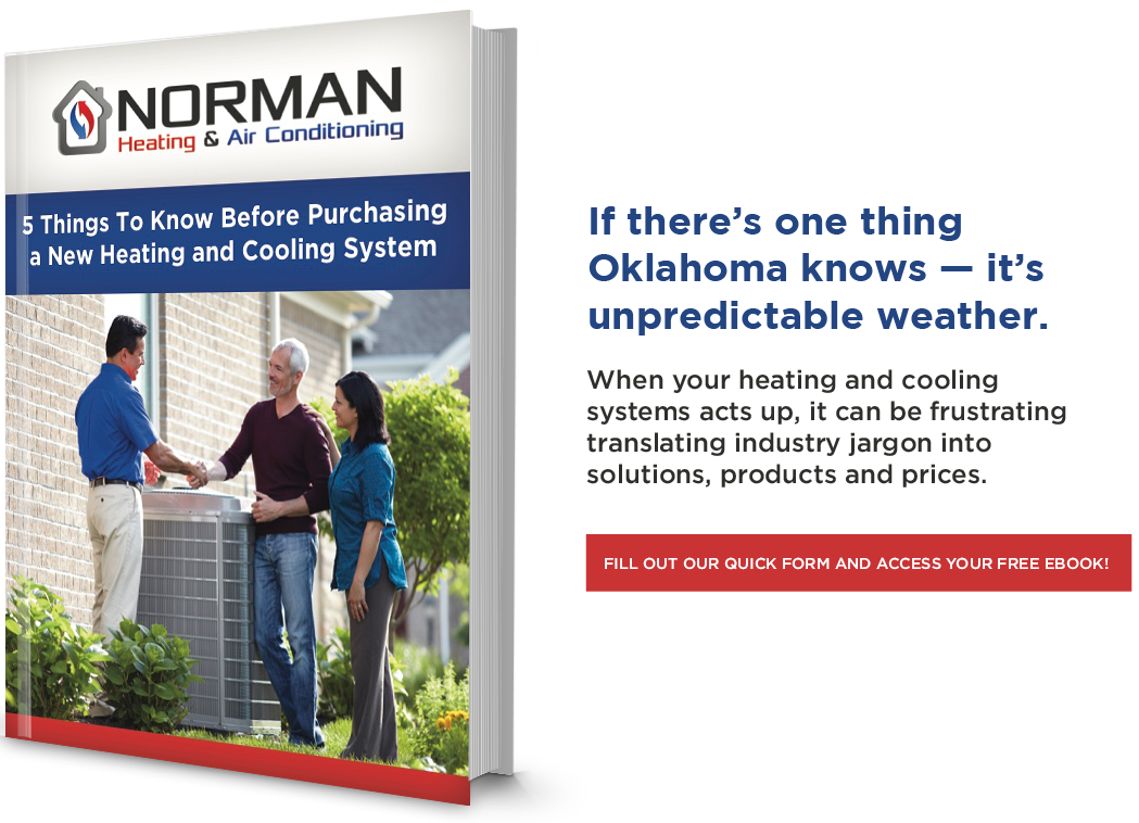 5 Things to Know Before Purchasing a New Heating & Cooling System in Norman, Moore, or OKC