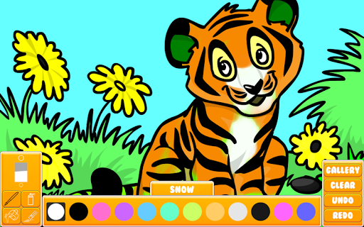 Animal Coloring Book 2017