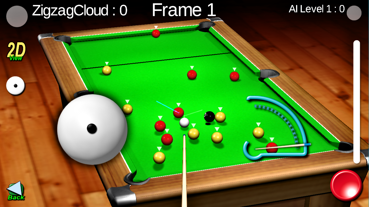 Quick Break Pool- screenshot