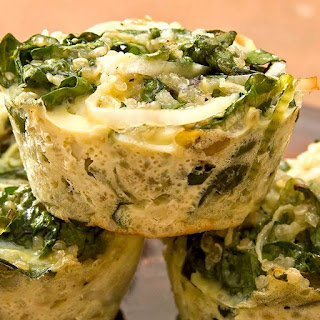 Spinach & Kale Quinoa Bites with Spirulina