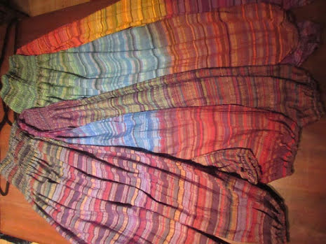Byxa - Nathan, Three Mix Stripe w sidepockets