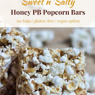 No Bake Sweet n' Salty Popcorn Bars.