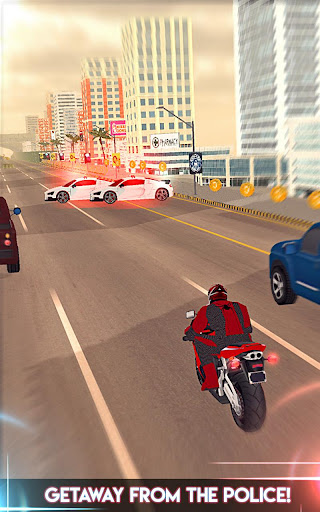 Amazing Spider 3D Hero: Moto Rider City Escape screenshot 5