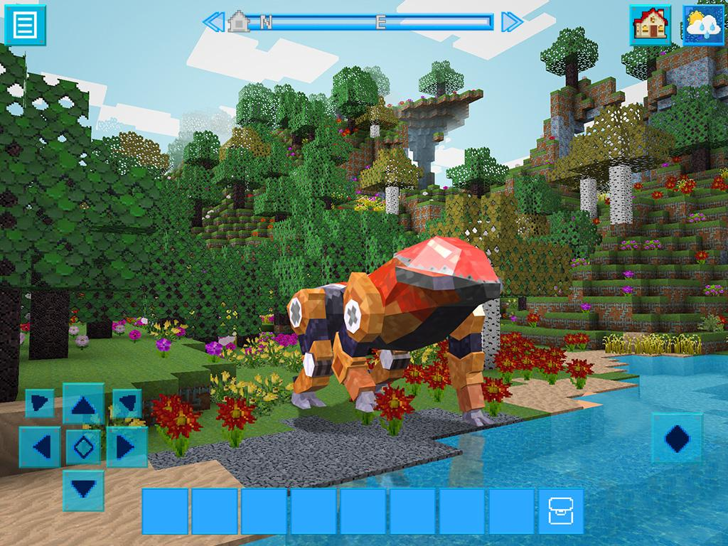 RoboCraft: Survival Craft in the World of Robots- screenshot