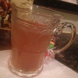 Cold Remedy HOT SPICED TODDY for adults * Rum, whiskey or brandy * honey or maple syrup *.