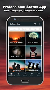Lovely Video Status App Download For Android and iPhone 1