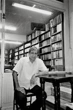Photo: Salahattin Bulut, writer and owner of the well known Kurdish bookstore Medya Kitapevi in Istanbul, 2005