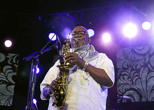 On the beat: Sipho 'Hotstix' Mabuse says music has always been at the forefront of social change and is still needed today to pose questions. Picture: ESA ALEXANDER