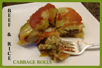 Beef & Rice Cabbage Rolls Recipe